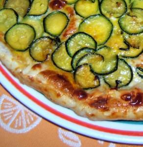 Crostata di pasta sfoglia con zucchine