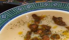 Crema di patate con funghi porcini