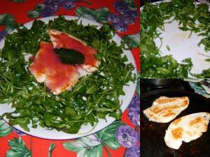 Petti di pollo con salsa di limone