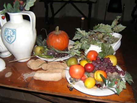 Cucina all'interno della Rocca