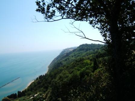 Veduta dalla strada panoramica di San Bartolo