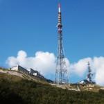 Le antenne RAI di Monte Nerone