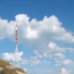 Le antenne RAI a Monte Nerone