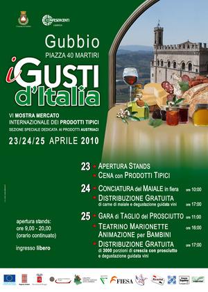 Gusti d'Italia 2010