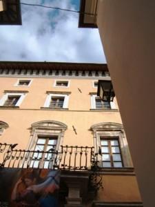 Ingresso mostra:Palazzo Servanzi Confidati