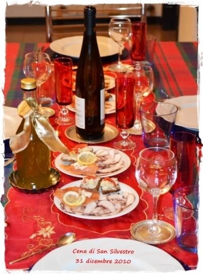 Cena di San Silvestro: Carla e Dino, Maria Teresa e Sergio