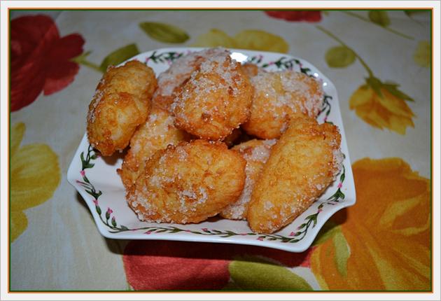 Frittelle di San Giuseppe (di riso)