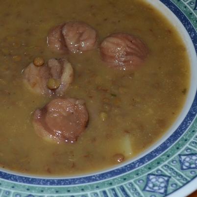 Lenticchie e castagne