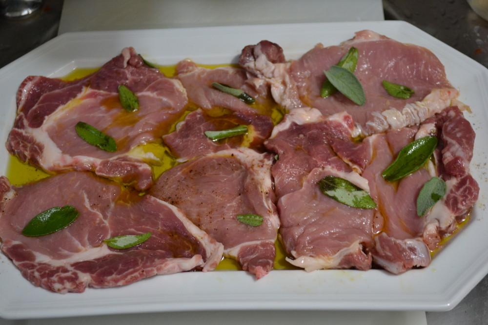 bistecchine di maiale