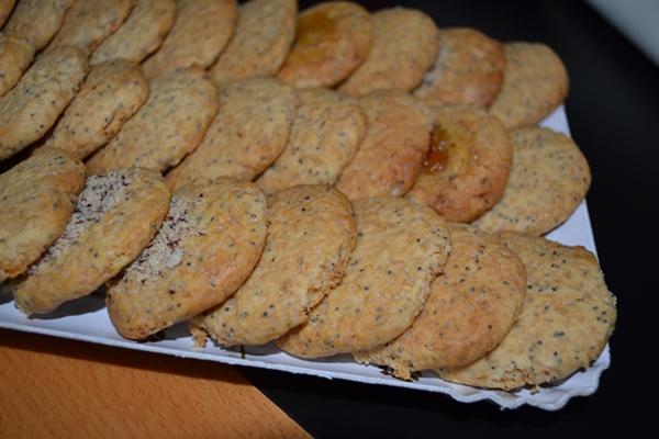 Biscotti miele e papavero