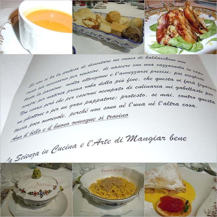 pranzo a Casa Artusi