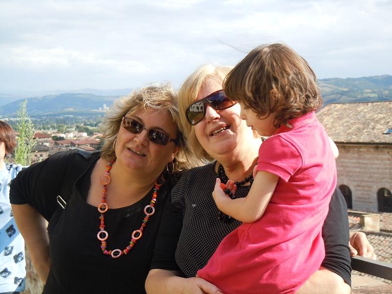 Sabrina, Maria Teresa, Rachele