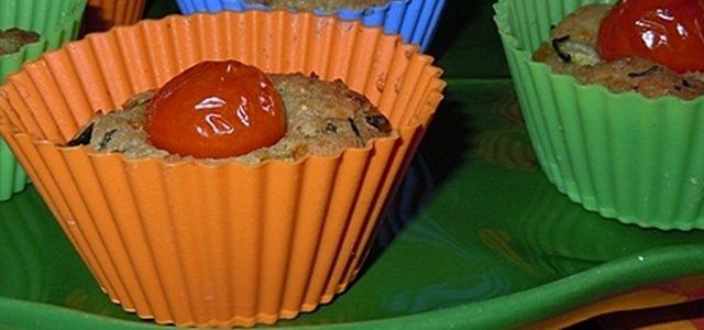 Mini torte di zucchine