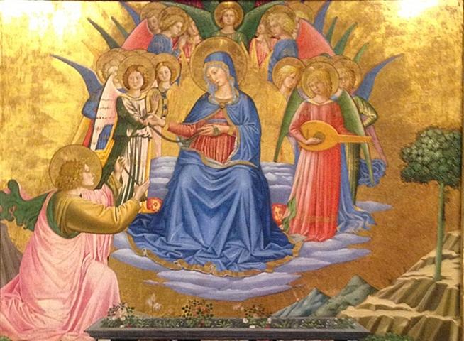 La Madonna della cintola a Montefalco