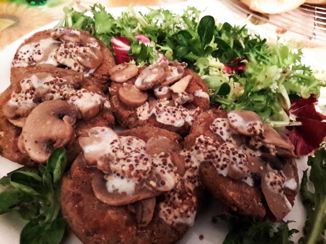 burger di champignon