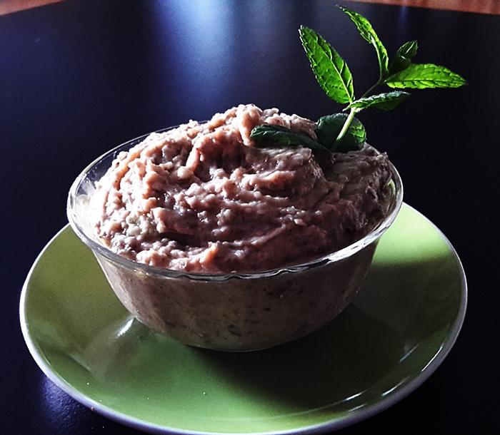 Hummus di lenticchie e ... riso