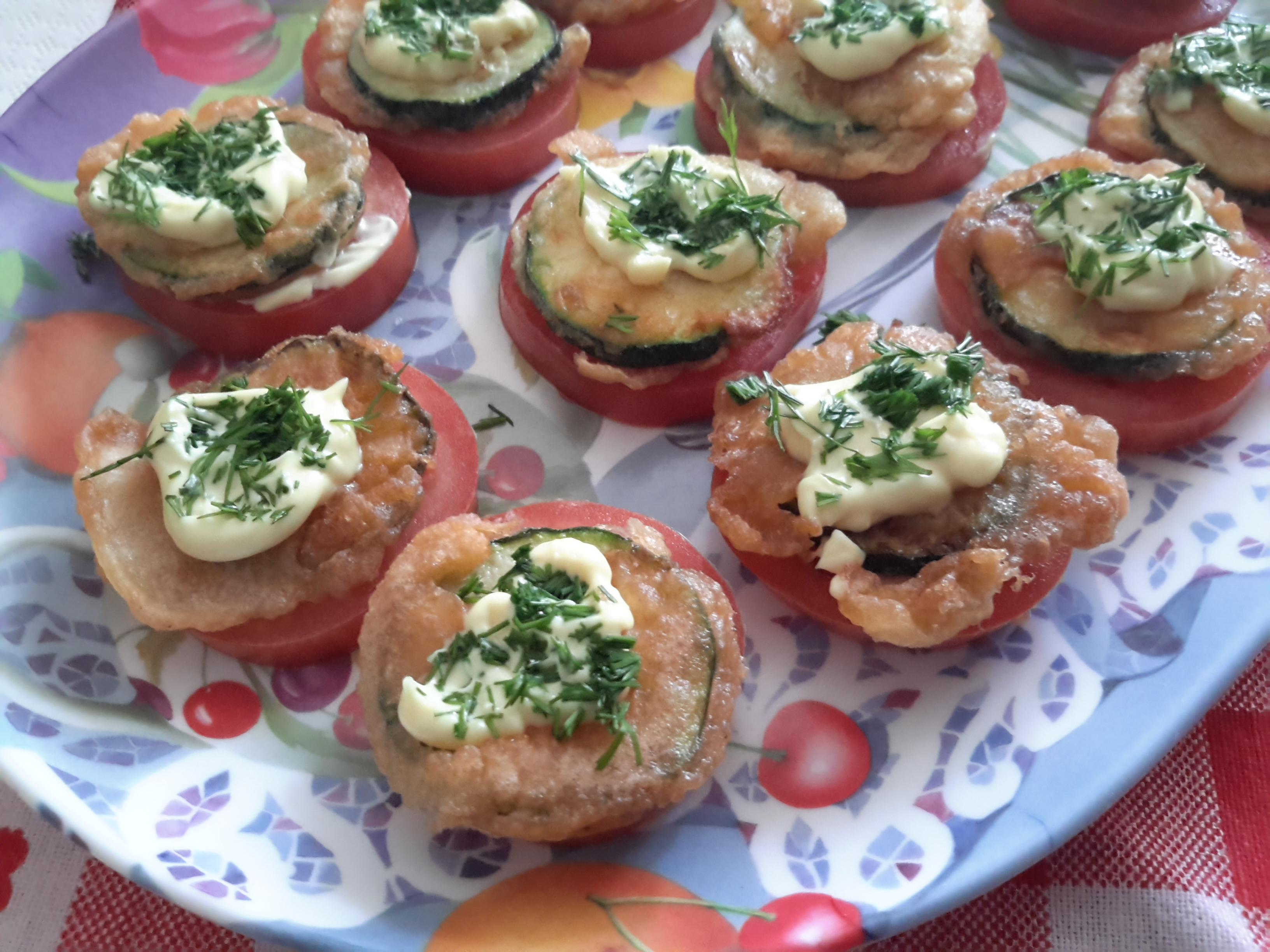 Pomodoro e zucchina