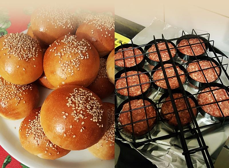 I panini e i mini-hamburger