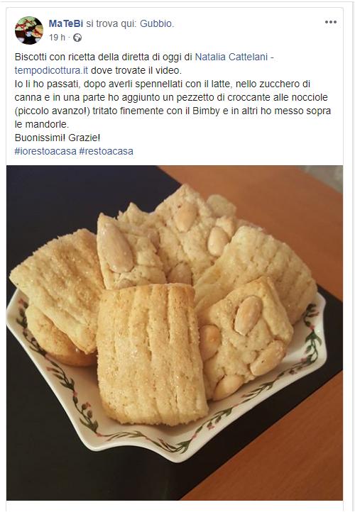 Biscotti al latte (Natalia Cattelani)