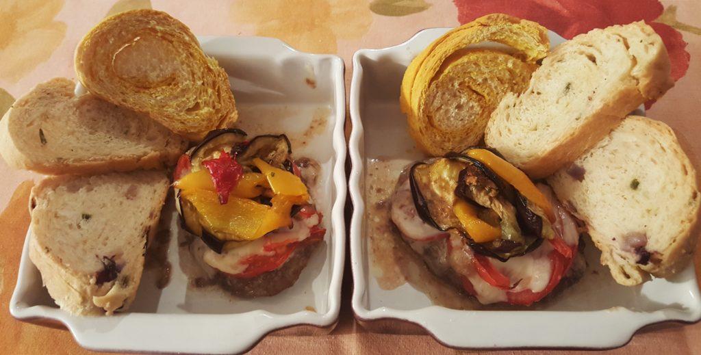 Pane colorato e croccante