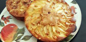 MiniTORTE con mirtilli, mela, noci, pinoli