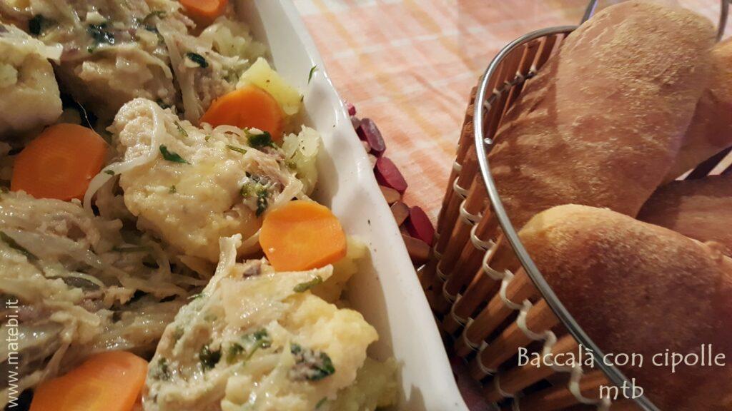 Baccalà con cipolle